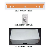 KIT,BLADES AND SCREWS FOR ROLLER BATH ASSY